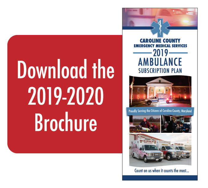Download the 2019-2020 Ambulance Subscription Brochure