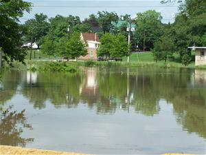 Flood Waters in Federalsburg